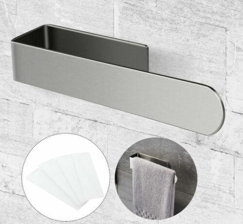 Handtuchhalter Handtuchringe Badezimmer ohne bohren Edelstahl Wohnzimmer D