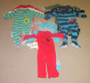 Boy's PJ's 18 months (most are Carters)