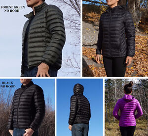 700 FP Lightweight Packable Down Jackets, Men's & Women's Styles