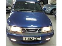 2002 SAAB 9-3 AERO HOT Blue Auto Petrol