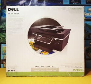 NEW IN BOX - Dell V715W All-In-One Inkjet Printer