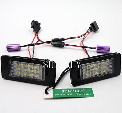 New!FREE ERROR LICENSE PLATE LAMP LED LIGHT FOR AUDI A4 B8 A5 S5 TT Q5