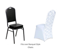 Rosette Spandex Chair Covers