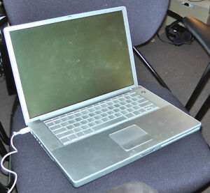 "2 X APPLE LAPTOP Power Book G4, 15"" WIDE LCD SCREEN"