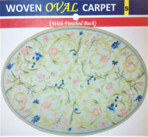 Miniature Carpets (Page: Small  OVAL & ROUND Carpets)