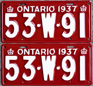YOM Licence Plates For Your Old Auto - Ministry Guaranteed! Cornwall Ontario image 5