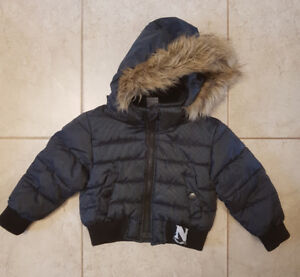 Baby winter jacket size 24 months (fits small)