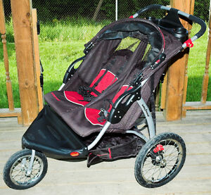 Baby Trend Expedition EX Double Jogger Stroller - Carbon
