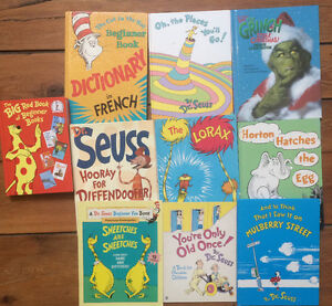 Large DR SEUSS BOOKS $5 each or all 10 for $40