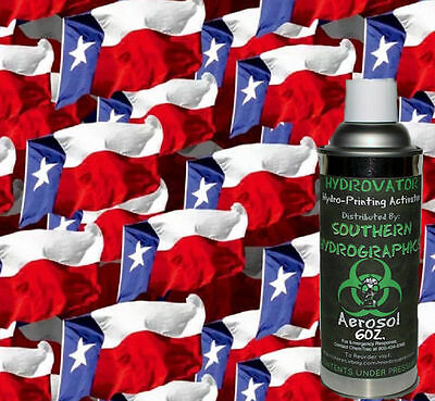 Hydrographic Film Water Transfer Hydro Dip 6oz. Activator Waving Flags Kit