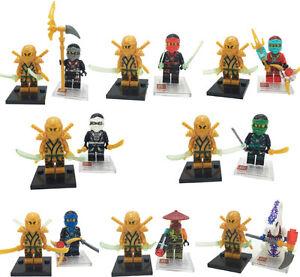 Ninja characters 16 pack, Lego compatible