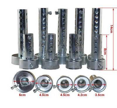 Muffler Insert - Universal Motorcycle Exhaust Can Muffler Insert Baffle DB Killer Silencer 45mm b