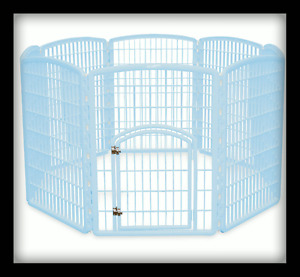 IRIS BLUE PET PEN