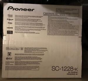Pioneer SC-1228-K 7.2 Channel 3D Ready Class D3 Multi-Zone Home