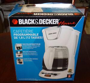 NEW Black & Decker Coffee Maker