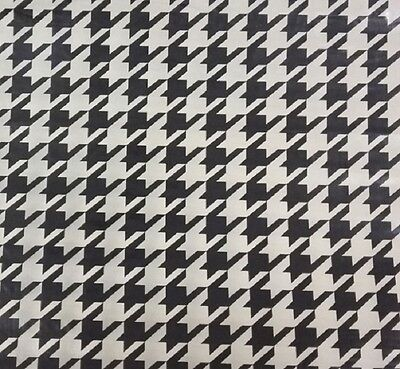 Hydrographic Film Water Transfer Printing Film Hydro Dip Houndstooth 1m