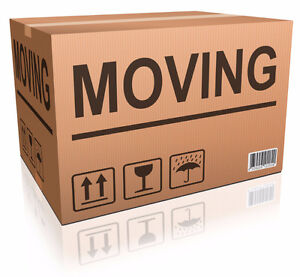 MOVING BOXES - FREE!