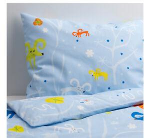 NEUF! Housse de couette et taie pour enfant lit simple IKEA
