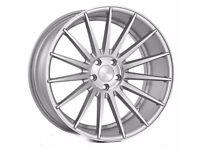 """19"""" Veemann VC7 - Silver Alloy Wheels & Tyres. Suit BMW E90, E92 & F30. (5x120)"""