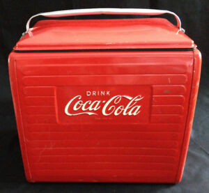 Vintage Collectible 1956 Metal Coca-Cola | Coke Picnic Cooler