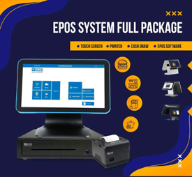 EPOS/ POS COMPLETE SMART PACKAGE FOR RETAIL & FAST FOOD