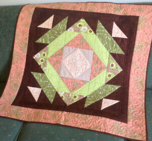 Quilted Medallion Table Topper