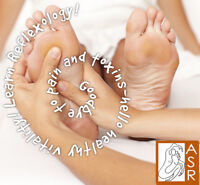 Moncton Foot Reflexology Course - French & English Instruction