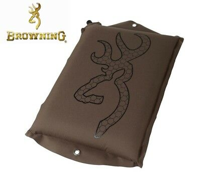 Browning Series SELF Inflatable Seat Pad Polyester Brown NEW Quality Hunt Camp