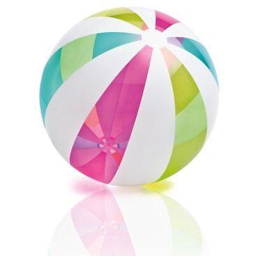 fblasbar Riese Strand Ball über 1 Metre Breit! 107cm Intex (Jumbo Aufblasbaren Ball)