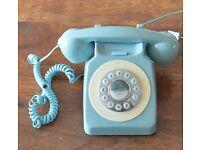 Vintage / retro analogue telephone