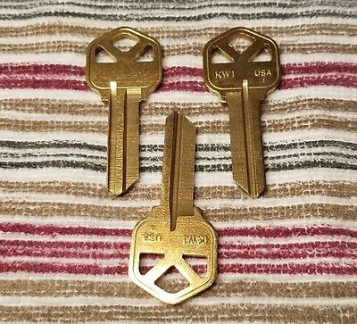 Kwikset Kw1 Key Custom-cut On A1 Pak-a-punch