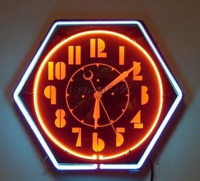 Domain Name www.NeonClocks.com - Antique Vintage Electric Neon Clock Clocks
