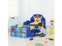 Toddler paw patrol bed, in new condition - rrp £1