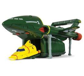 Thunderbirds 2 ,3 and 4 rockets