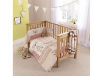 Clair de Lune Little Bear Cot Bedding Set(New)