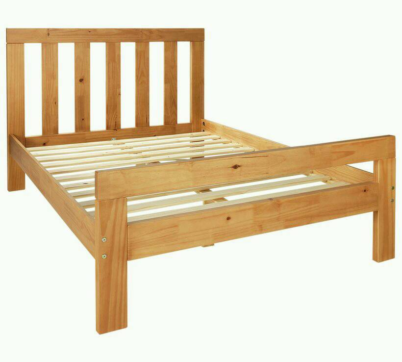 75 Chile Small Double Bed Frame 4 Foot Delivery Available In