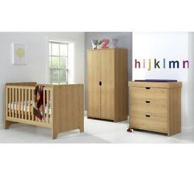 Mamas & Papas 3pc Nursery Furniture Set