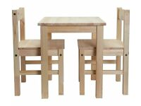 Brand New Scandinavia Kids Table and 2 Chairs