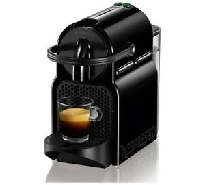 Black Nespresso machine (Inissia)