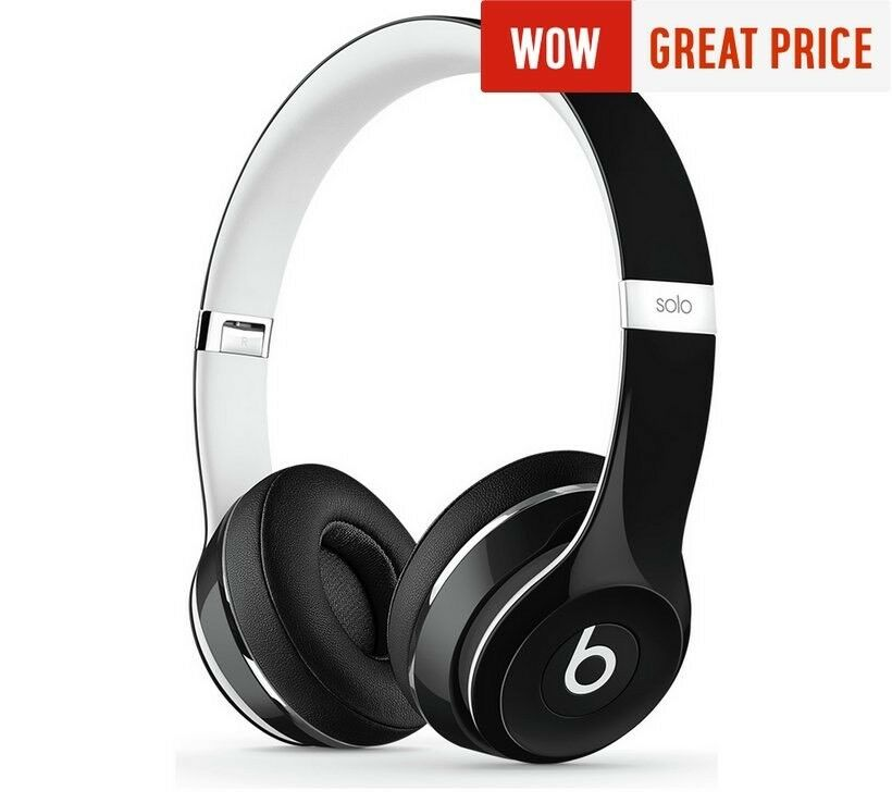 Beats Solo 2 - Luxe Edition Black ( Brand New)