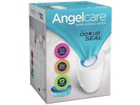 Angelcare Nappy Disposal System with one refill cassette - brand new, unopened box.