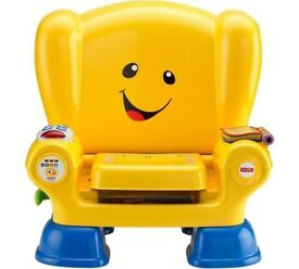 Immaculate Condition Fisher-Price Laugh & Learn Smart Stages Chair Yellow
