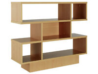 BRAND NEW Argos Beech Cubed Shelving Unit