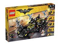 LEGO The Batman Movie Ultimate Batmobile Brand New