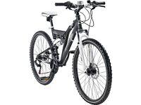 2 Muddyfox Mountain Bikes - His and Hers.