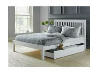 Brand New Small Double (4ft) Bed Frame White