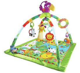 Fisher-Price Rainforest Music & Lights Deluxe Gymby