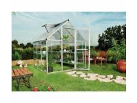BRAND NEW 6ft X 6ft Aliminum Greenhouse / Plastic Glazing