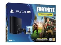 **SEALED** PS4 PRO 1TB FORTNITE BUNDLE BRAND NEW PLAYSTATION PRO ONE TERABYTE & 1 YEAR SONY WARRANTY