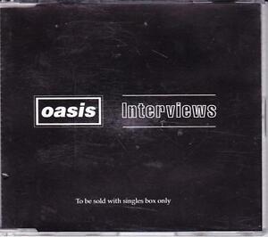 OASIS-UK-4-TRACK-CD-1996-INTERVIEWS